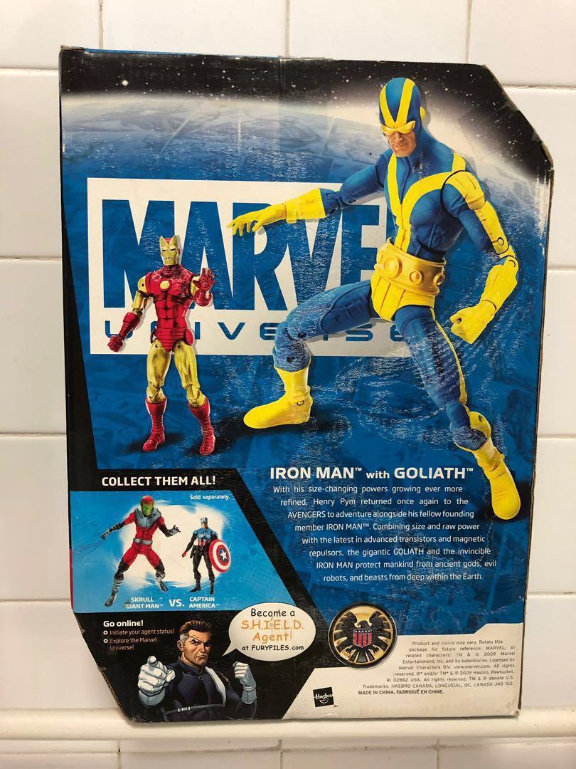 Marvel Universe Captain America Vs Skrull Giant man and Iron