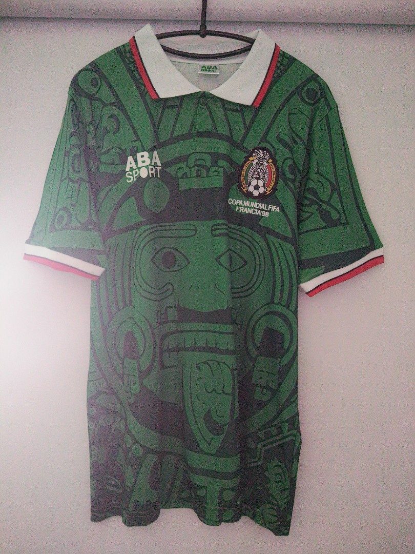 e8f0d5a9f Mexico World Cup  98 Jersey