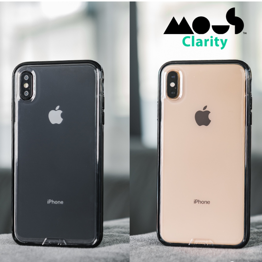 more photos 23f4a 66417 Mous Clarity Case for iPhone X/XS