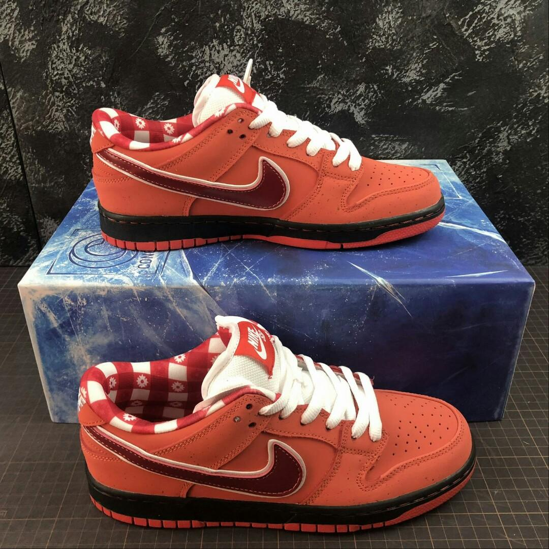 Nike Sb Dunk Low Red Lobster x Concepts
