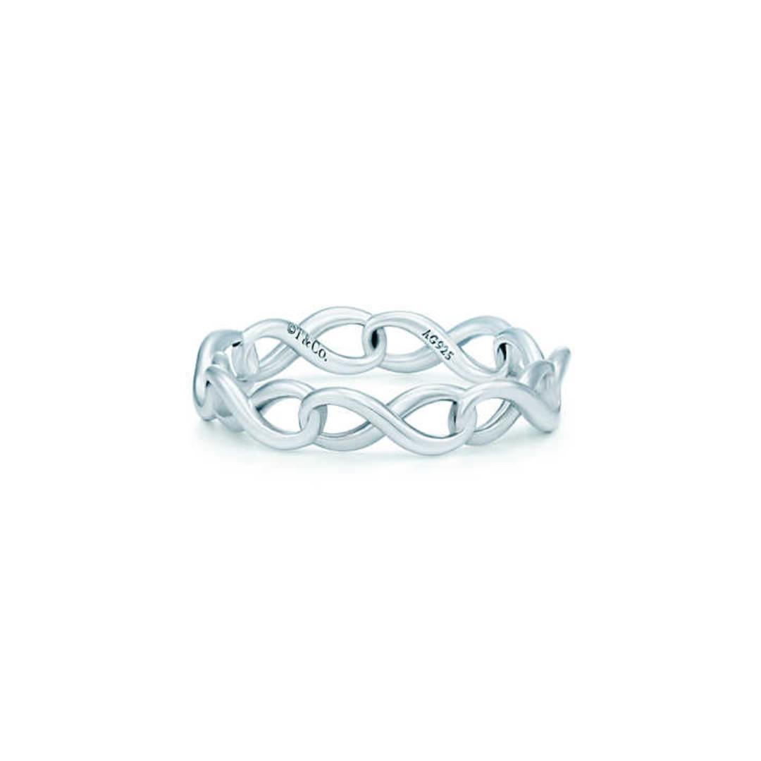 31f7ef360 NP Authentic US Tiffany & Co. Tiffany Infinity Narrow Band Ring ...
