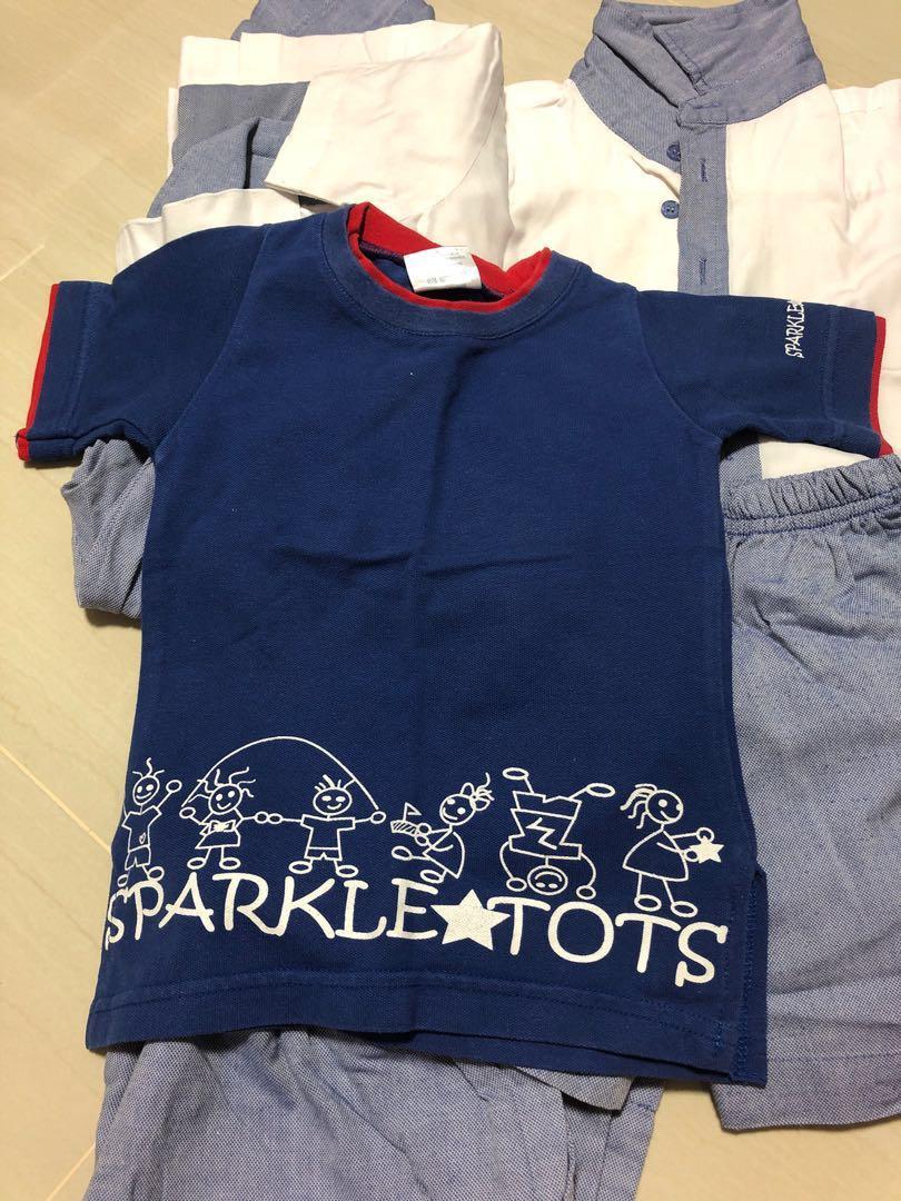 Pcf sparkletots boy uniform