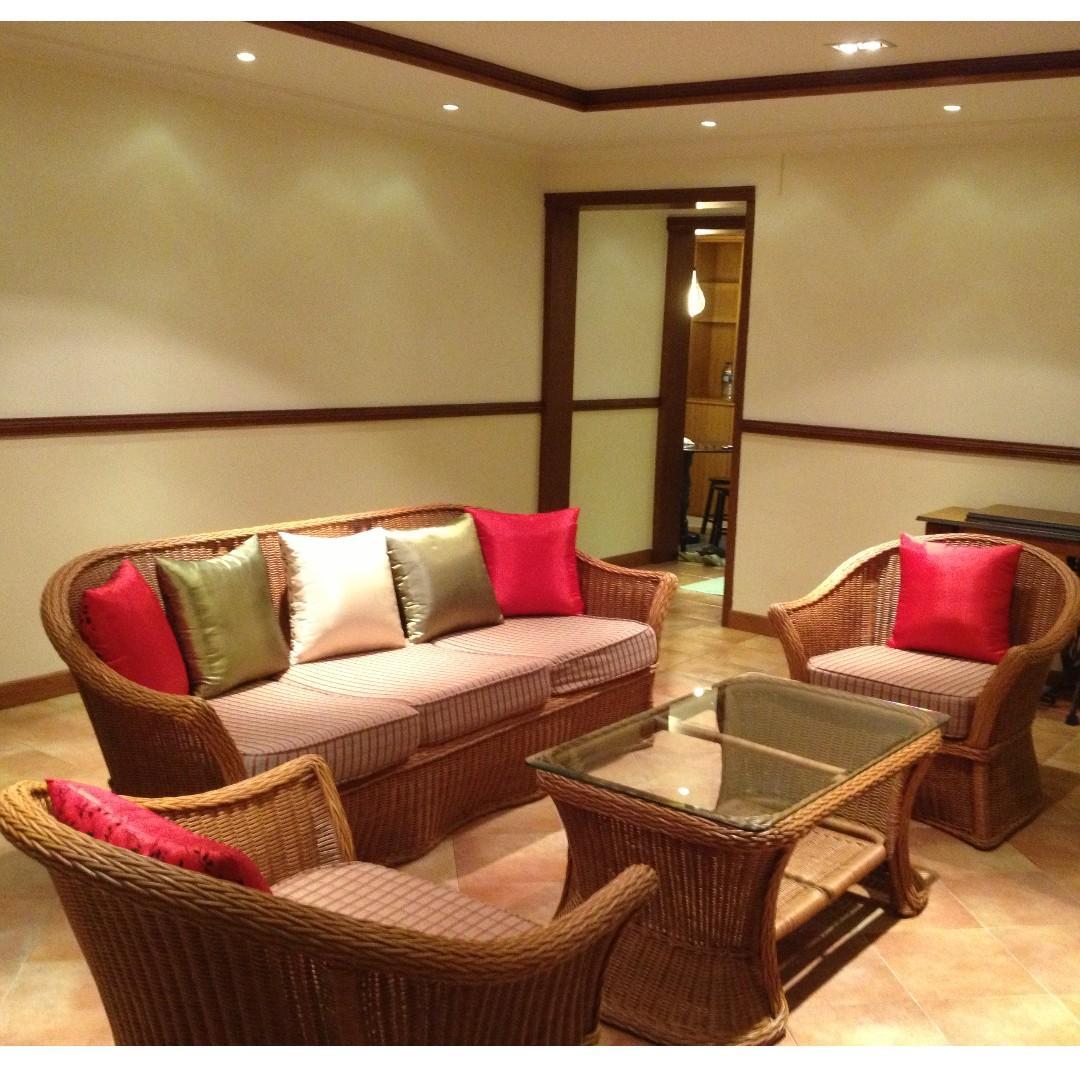 Admirable Handmade Rattan Cane Sofa 3 1 1 Coffee Table Spiritservingveterans Wood Chair Design Ideas Spiritservingveteransorg