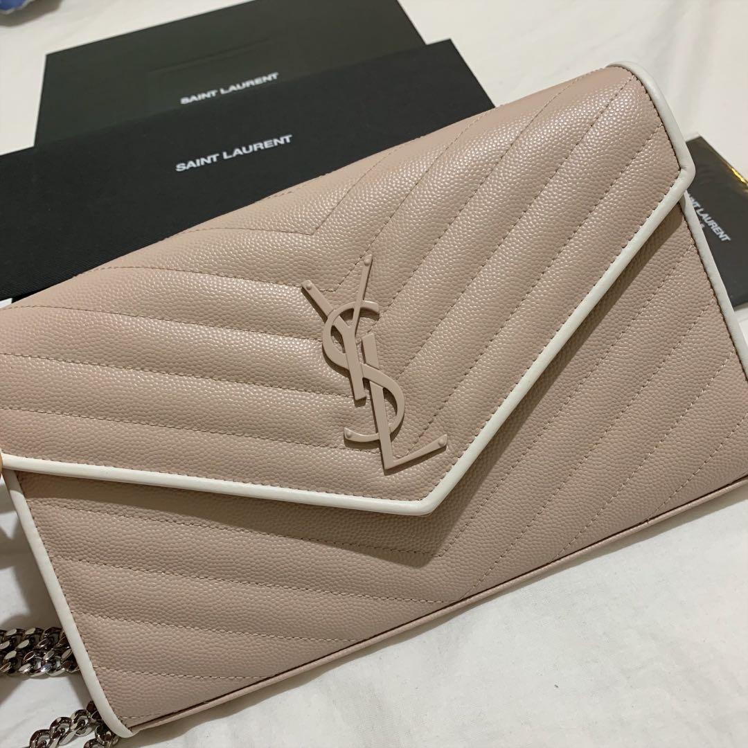 Saint Laurent wallet on chain