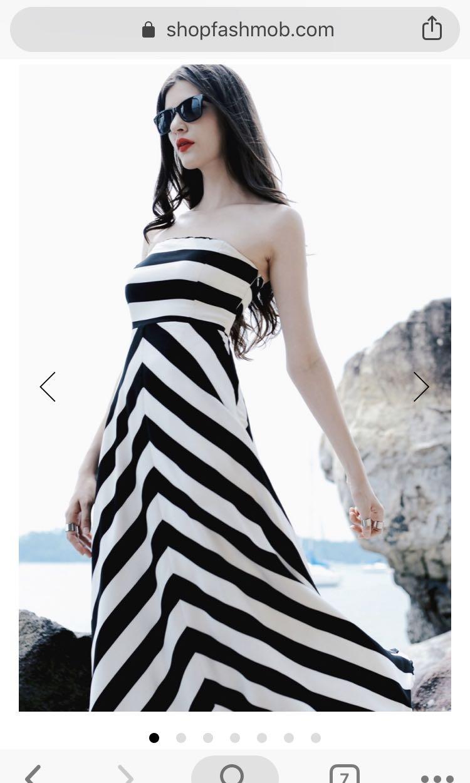 243ad5dd14 Shopfashmob Vogue dress XS, Women's Fashion, Clothes, Dresses ...