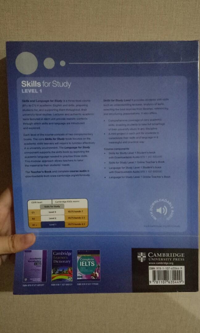 Skills for Study level 1