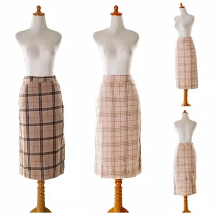 Skirt 36666 - Lovely Grid