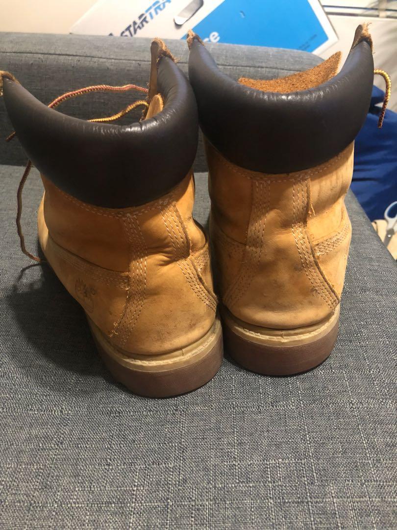 Tan Timberland Boots size 10