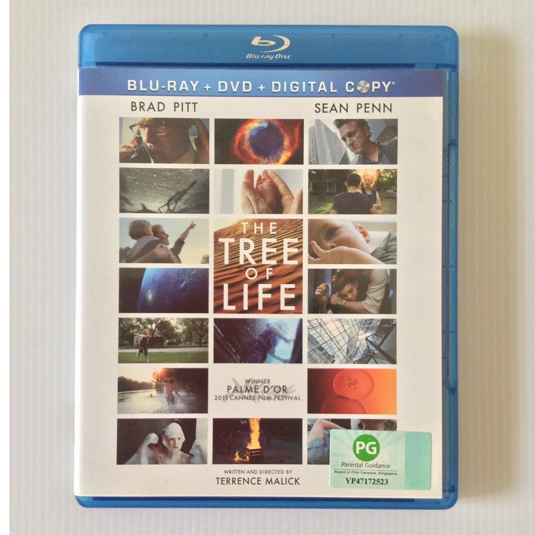 The Tree of Life Blu Ray + DVD, Music & Media, CDs, DVDs