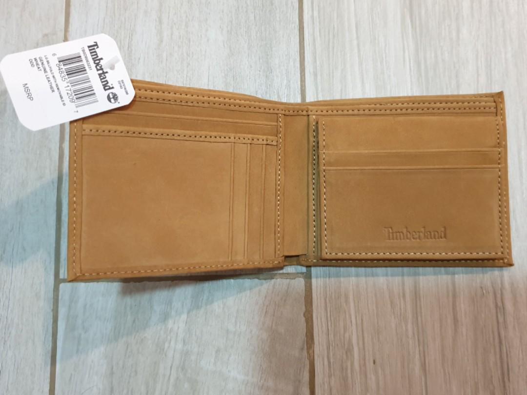 Timberland large billfold wallet with removable ID