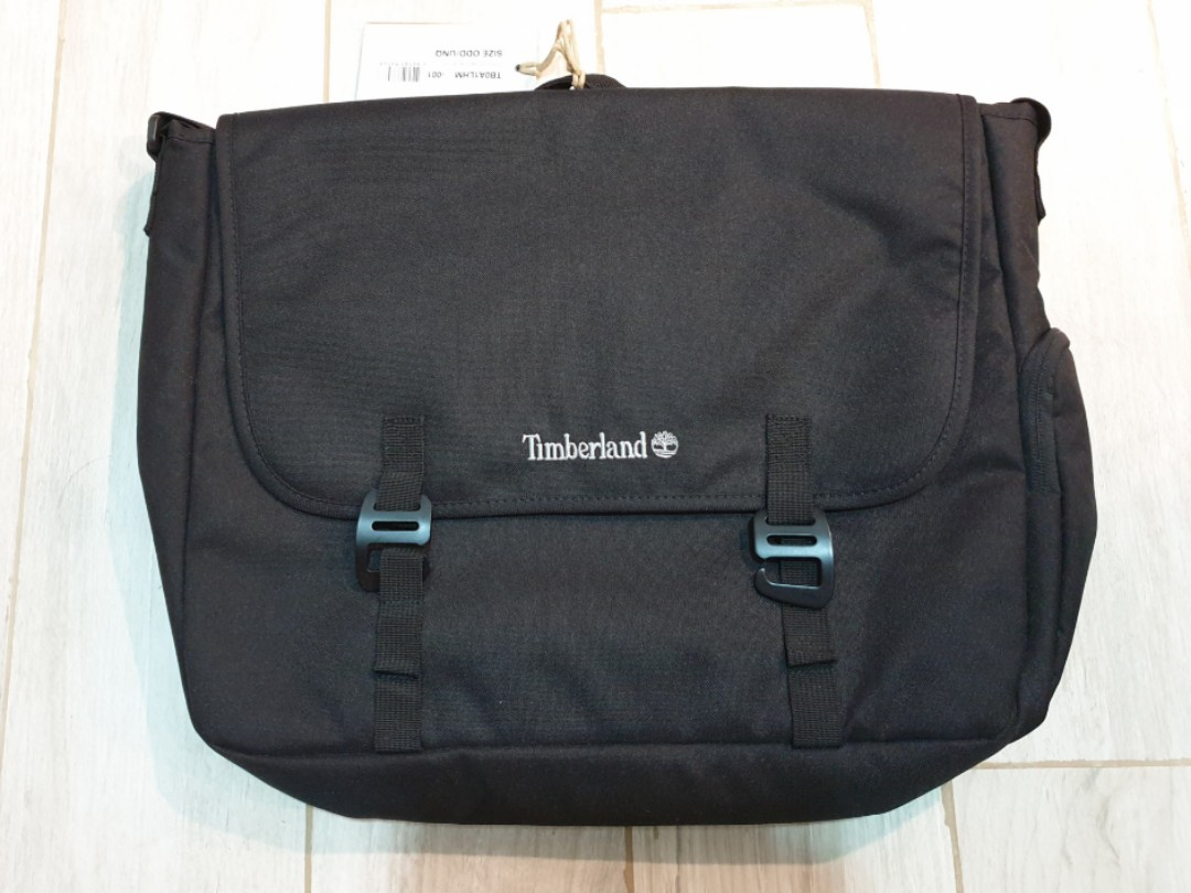 f8d7359f93 Timberland Messenger Bag with sling, Men's Fashion, Bags & Wallets, Others  on Carousell