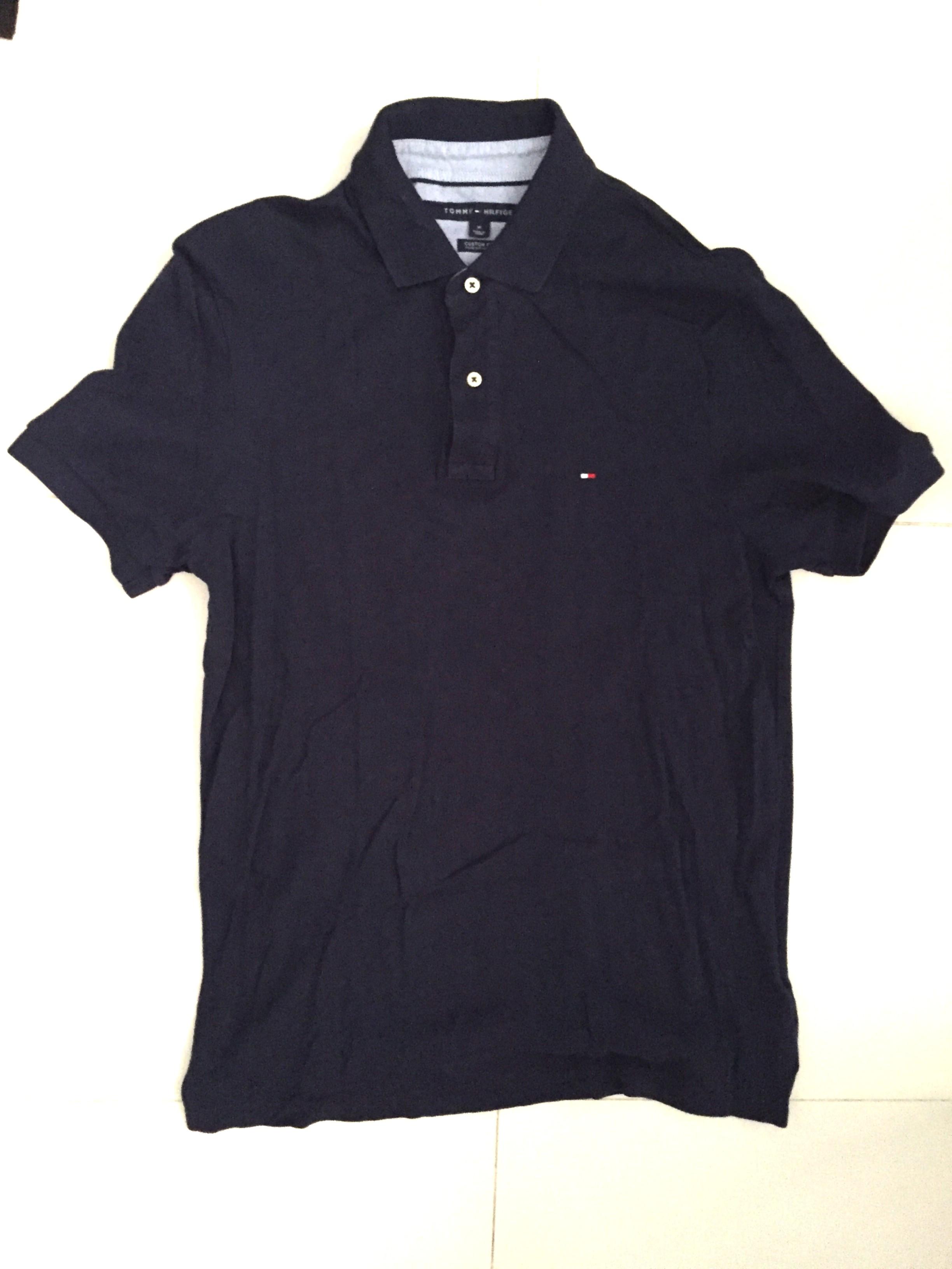 e27ef4de Tommy Hilfiger polo tee (Custom Fit), Men's Fashion, Clothes, Tops ...