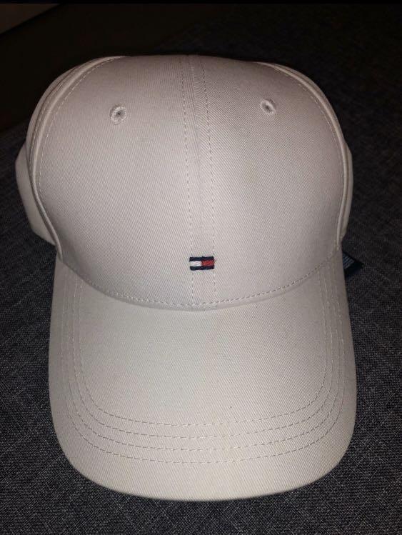 Tommy Hilfiger White Baseball Cap
