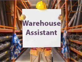 Warehouse assistant, $8/hr — Jurong, Immediate, 1 Month only
