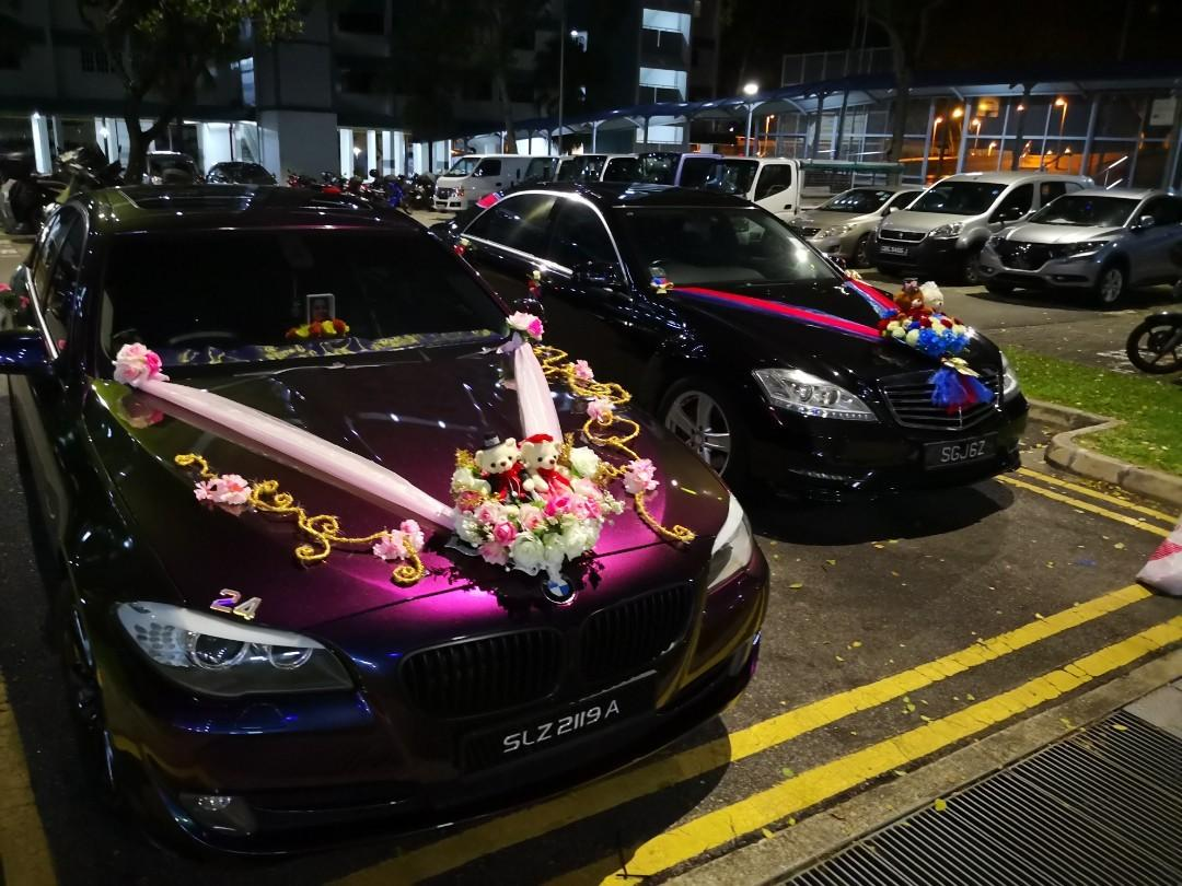Wedding Car Decorations, Car Accessories, Accessories on