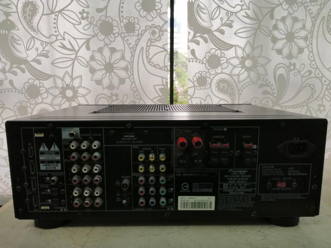 Wts: Pioneer VSX-520K AV Receiver