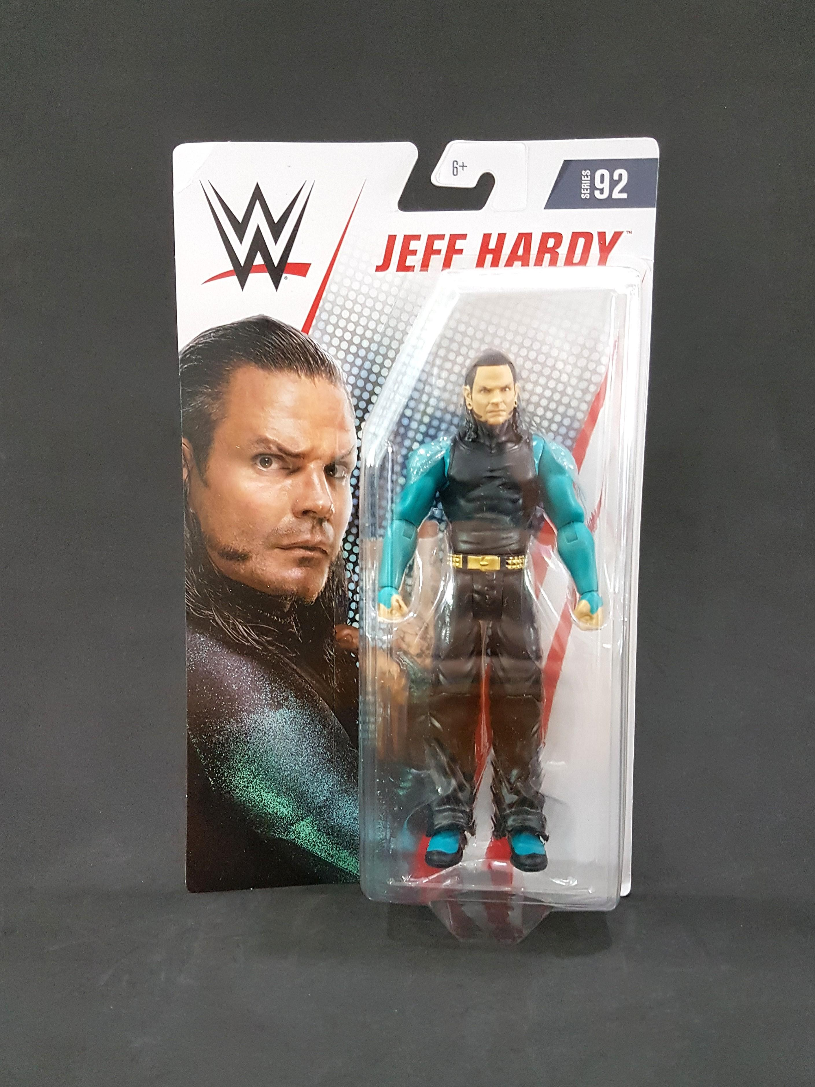 WWE Mattel Jeff Hardy Series 92 figure loose