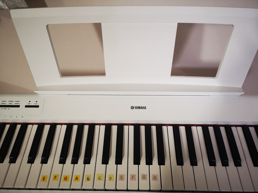 Yamaha electronic organ keyboard