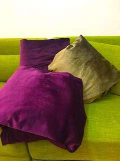 近兩米超隔音綿布.紫色和咖啡色