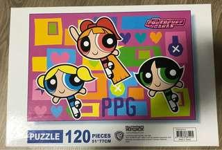 The Powerpuff Girls 120 pieces puzzle