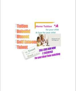 Home Tuition/ Private Tuition