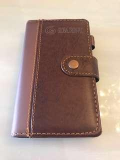 Leather Cover Daily planner