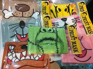 Face mask cloth for children/ kids