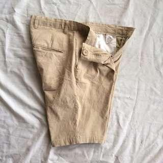 💥SP CHINO WARNA CREAM SIZE 30 ( P x LP = 47 cm x 81cm)