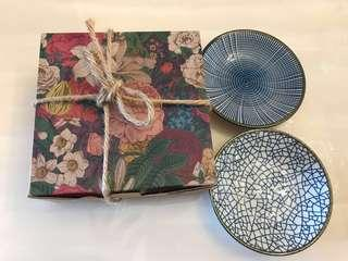 Twin Saucer Gift Pack