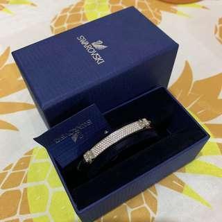 Swarovski Distinct Bangle Bracelet NRW Crystal STS L 手額手鏈