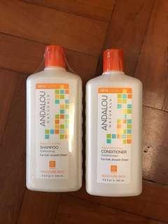 NEW - Andalou Shampoo & Conditioner