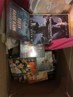 DVD與漫畫書