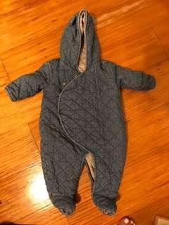 🚚 Baby Romper Denim suitable for 15-21 degrees celsius