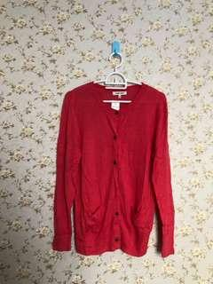 Red Cardigan / Outer