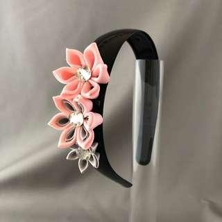 🚚 Headband / headband / pink headband / flower headband / pink flower headband