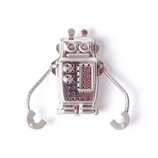 🚚 精品傢飾 創意小物 設計款 機器人 火箭 不鏽鋼 茶漏 濾茶器 預購