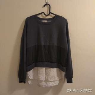 Padini Sweatshirt Preloved 2layer shirt