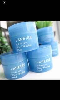 🚚 Laneige Water Sleeping Mask 15ml travel size