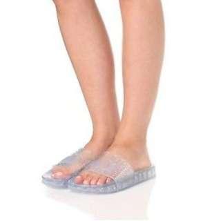 ef826a927baf Authentic Puma -Fenty By Rihanna x WMNS Jelly Slides Sandals White Size  36 37