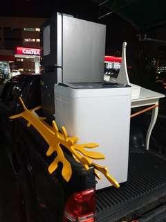 Pindah barang peti ais mesin basuh budget service