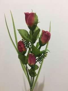 絲帶花/假花