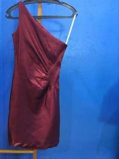 Oneshoulder Dress #SnapEndGame
