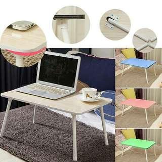 Foldable portable folding table notebook laptop meja