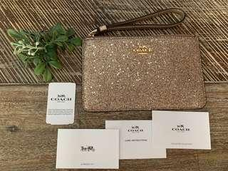 Coach Wristlet - Glitter Collection