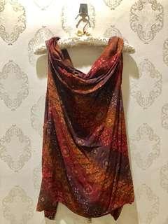2in1 Batik Dress dan Outer