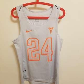 🚚 Nike NBA巨星 Kobe 球衣 白色 M號