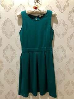 Green Neat Dress