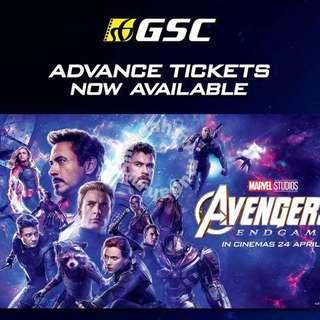 Avengers Endgame First Day First Show Ticket