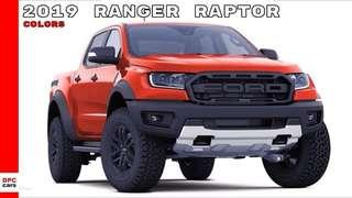 Ford Ranger Raptor 4x4 AT 2019