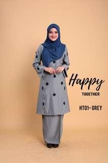 Baju Kurung Pahang - Happy Together